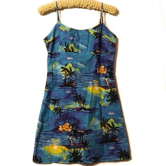 Royal Creations Dresses & Skirts - Royal Creations vintage style Aloha Hawaii dress M